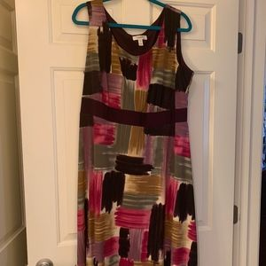 Fall Dress Barn Jacket Dress Set Size 20